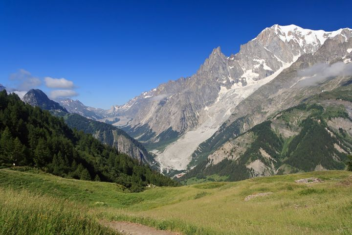 mont Blanc from Ferret valley - Antonio-S
