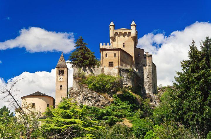Saint Pierre castle, Aosta, Italy - Antonio-S