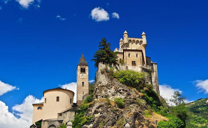 Saint Pierre castle, Italy - Antonio-S