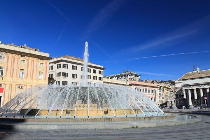 De Ferrari square in Genova, Italy - Antonio-S