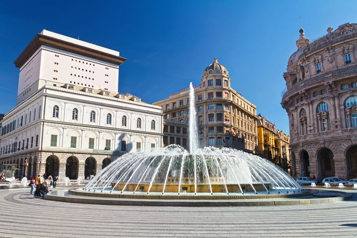 Piazza De Ferrari, Genova - De Ferra - Antonio-S
