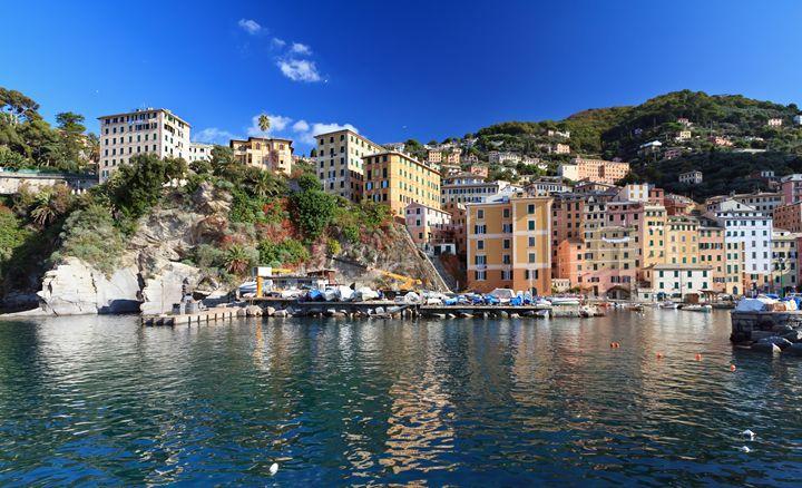 Camogli from the sea - Antonio-S