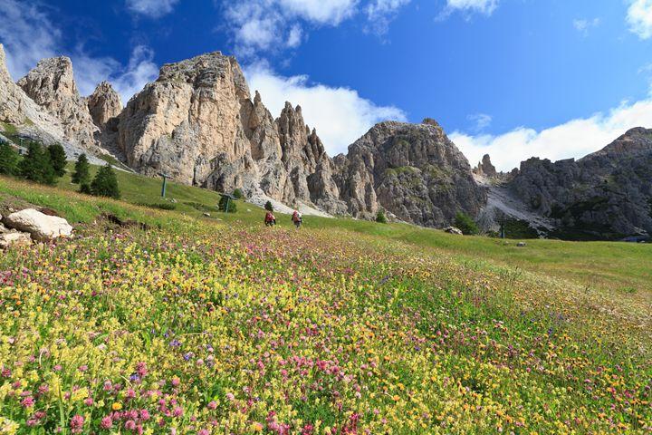 Dolomiti - hike in Gardena pass - Antonio-S