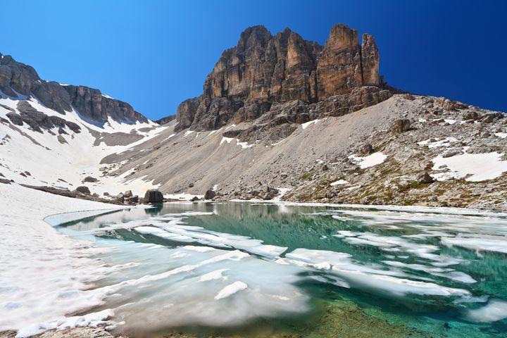 Dolomiti - lake Pisciadu - Antonio-S