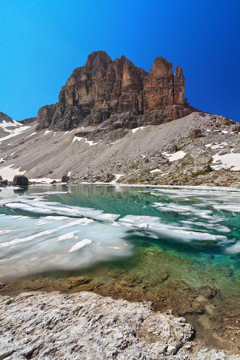 Dolomites - lake Pisciadu - Antonio-S
