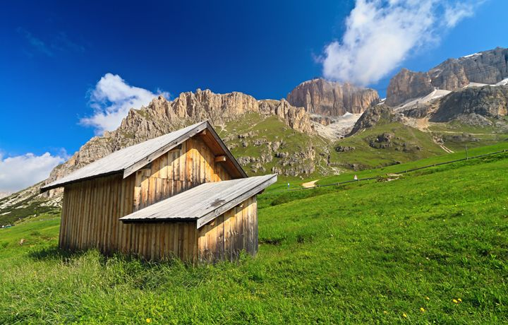 barn in Pordoi pass - Antonio-S