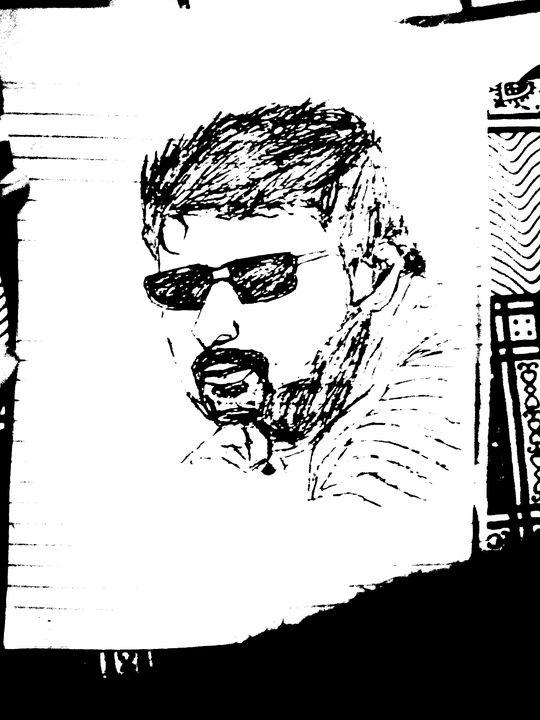Actor prabhas sketch - Automobile design