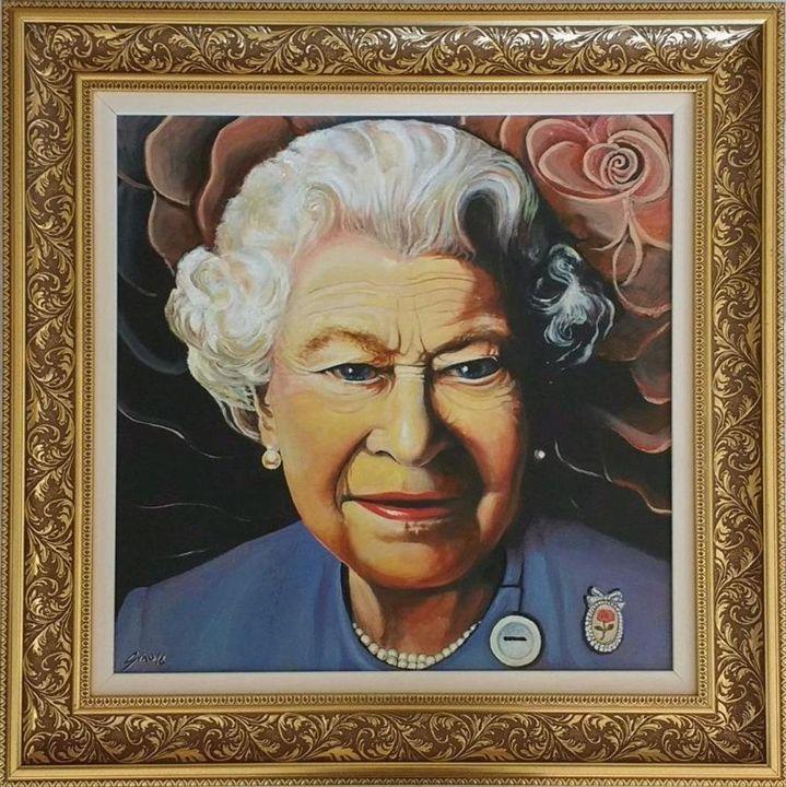 """The English Rose"" Queen Elizabeth 2 - Generoso Napoliello"