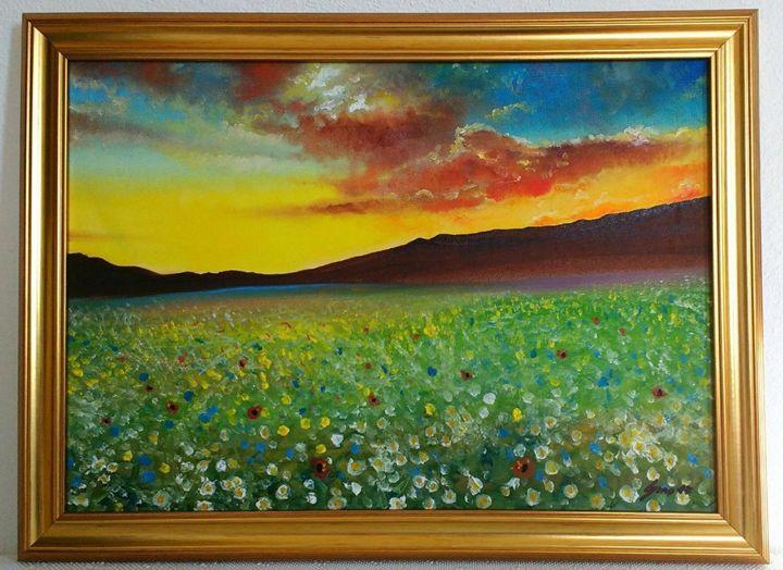 Sunset Meadow - Generoso Napoliello
