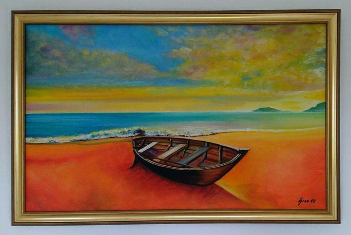 Lonely Boat - Generoso Napoliello