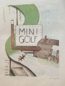 Mini Golfin'