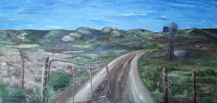 OLD GATE - SUSANNA HUGO