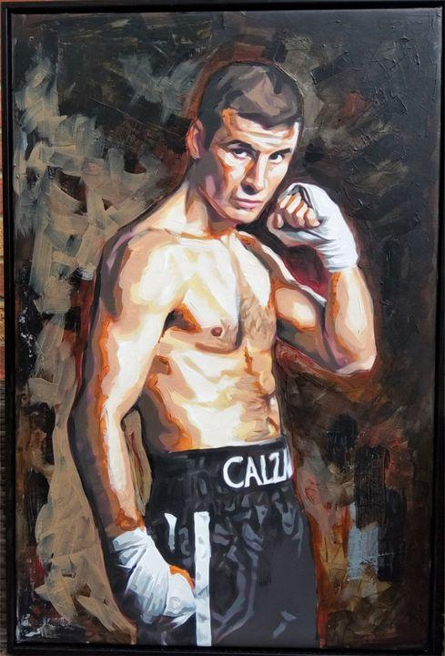 Joe Calzaghe Boxer - Jim Kook - Ashby Saint Eve