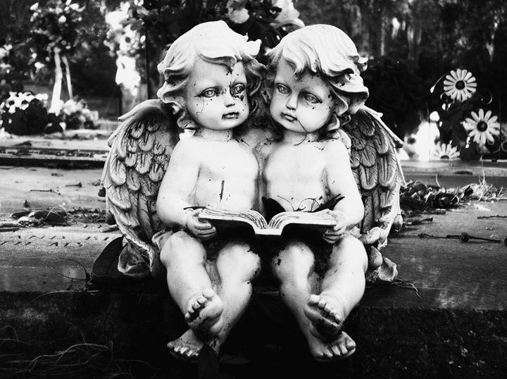 Angel Sisters - Cemetery Shots