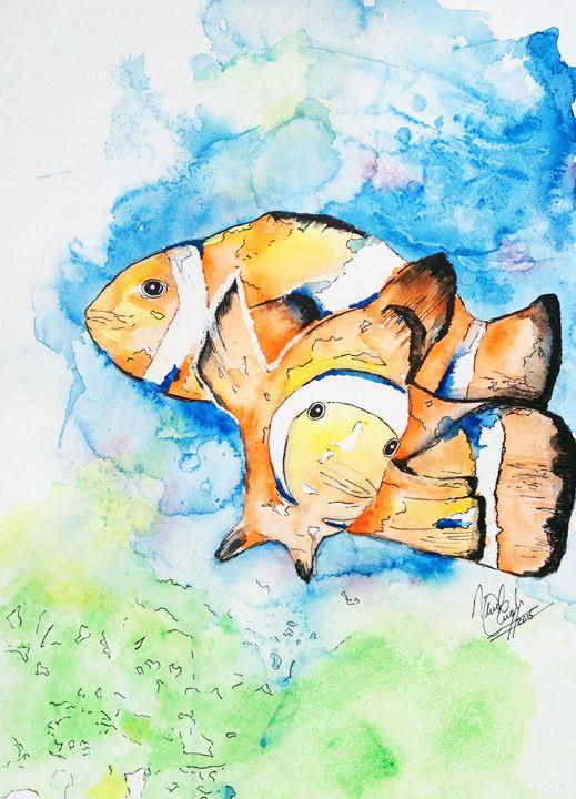 Clown Fish - A Splash of Colour