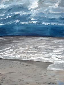 """Stormy Beach"""
