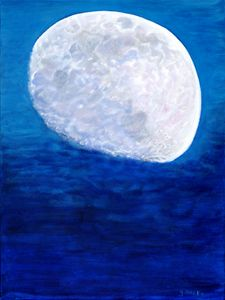 """The Moon's Reflection"""