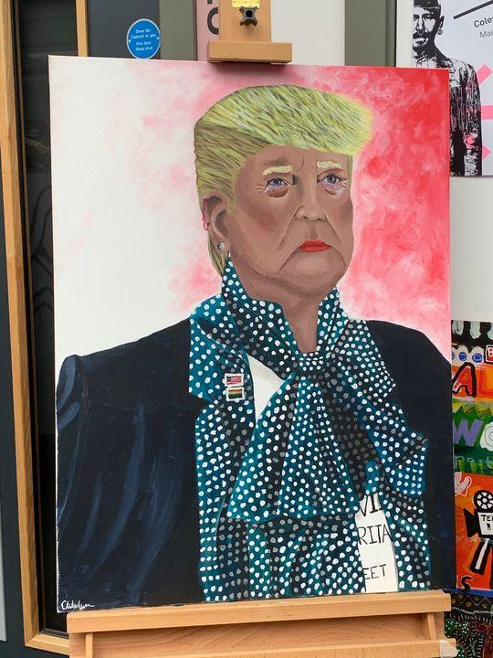 Feminine Donald Trump - Myrtle