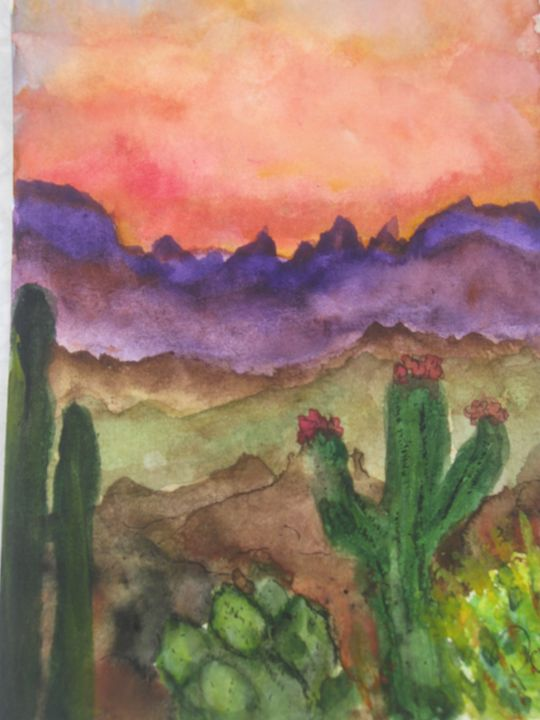 Canyon Sunset - Whimsey by Patti Engle