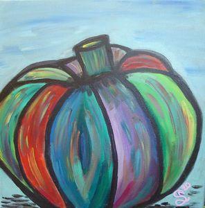 Colorful Pumpkin - Stephanie Noel