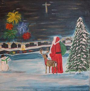 Santa on the River - Stephanie Noel