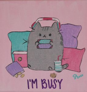 Pusheen gaming