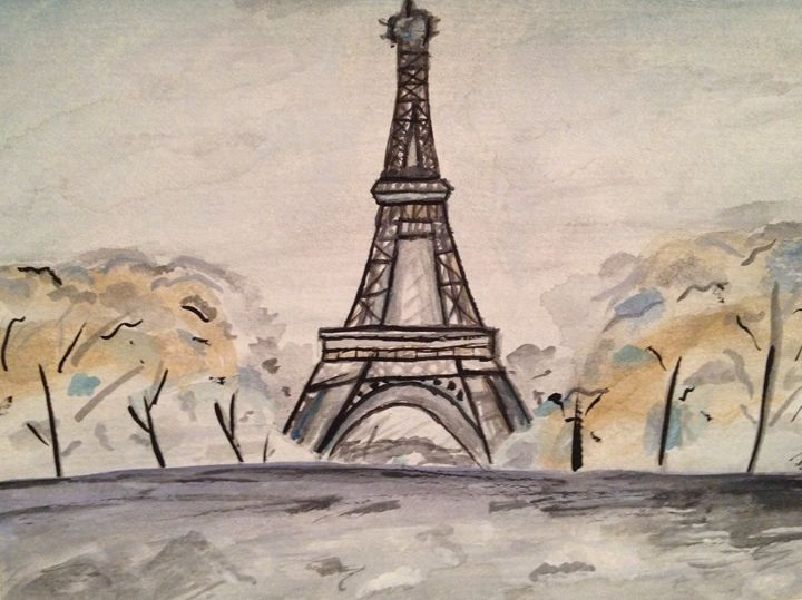 Paris Watercolour - Pretty Things