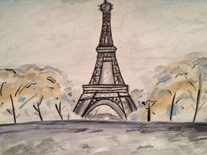 Paris Watercolour