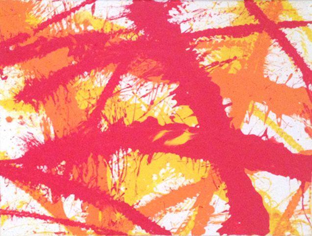 Red, Orange & Yellow - Whip Art