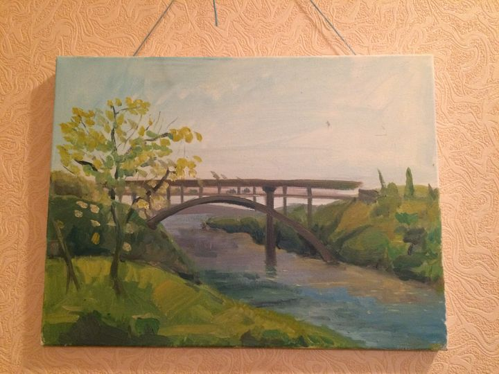 Bridge in zaporizhzhia - Childhood