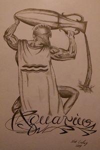 Aquarius - Ludwig's Fine Art