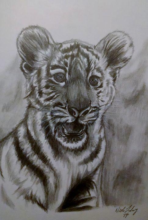 Tiger Cub - Ludwig's Fine Art