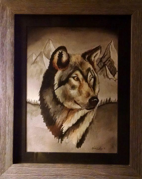 Wolf - Ludwig's Fine Art