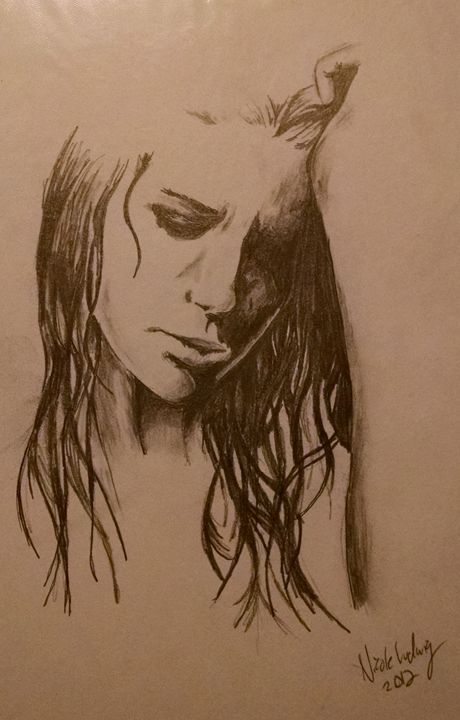 Lonely Girl - Ludwig's Fine Art