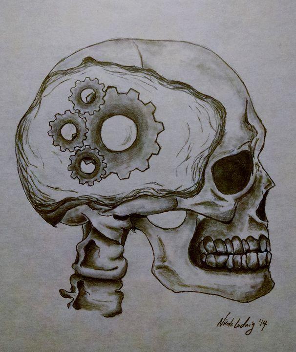Gears Turning - Ludwig's Fine Art
