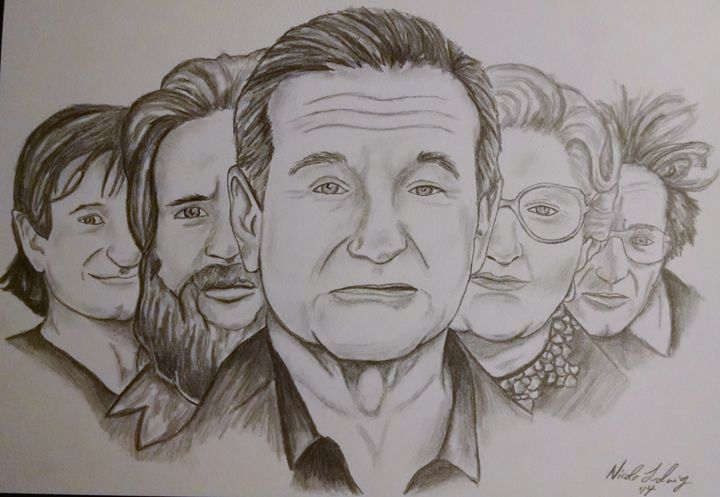 Robin Williams - Ludwig's Fine Art