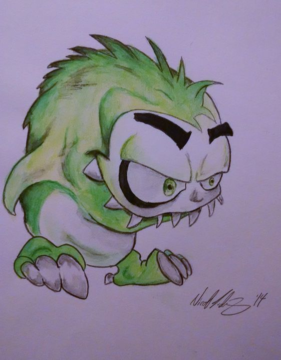 That little Green monster - Ludwig's Fine Art