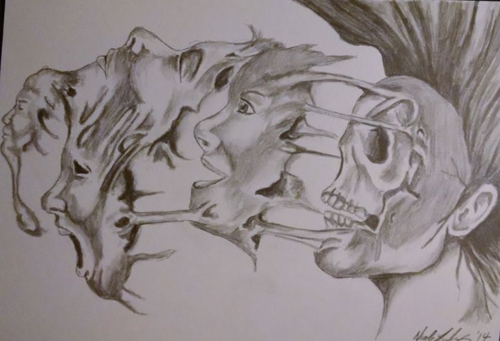 Many faces - Ludwig's Fine Art