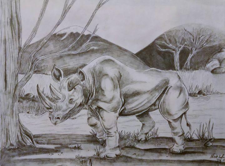 Rhino - Ludwig's Fine Art
