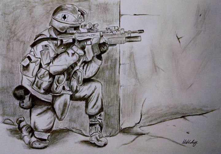 U.S. Soldier - Ludwig's Fine Art