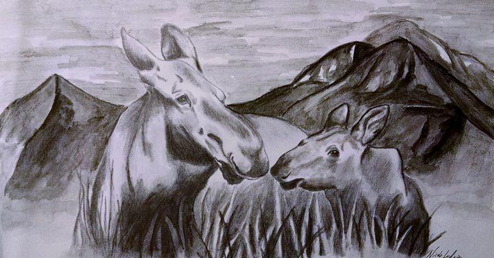 Moose - Ludwig's Fine Art