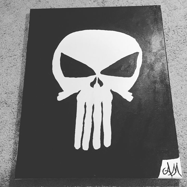 The Punisher - Paintings