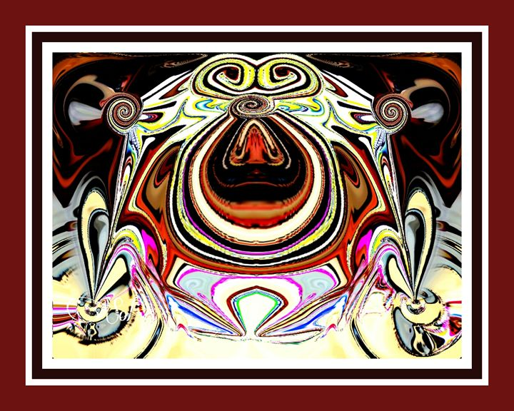 ABSTRACT FROG - sol