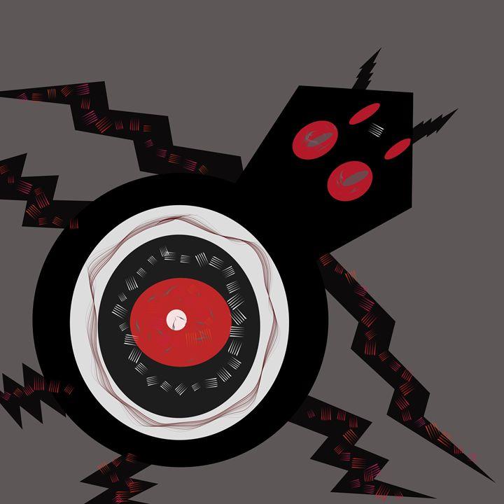 Black eye spider - sol
