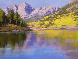 Maroon Bells Reflections - Graham Gercken Fine Art