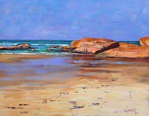 Low tide colours at South west Rock
