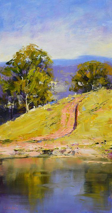 Track to the waterhole - Graham Gercken Fine Art