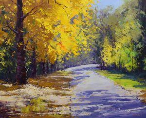 Autumn Colors Mt Wilson