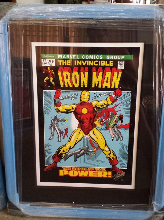 MARVEL/Stan Lee-Iron Man #2 / 295 - AR Collection