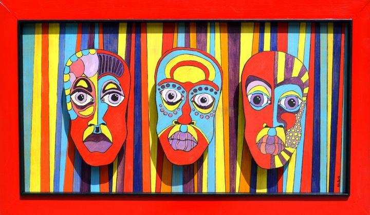 Three Faces - Blue Milk Studio